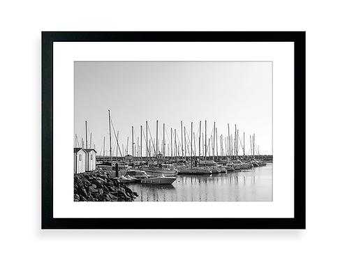 300 Pixels Affiche Photo - Port Bourgenay, Talmont Saint-Hilaire - Voiliers