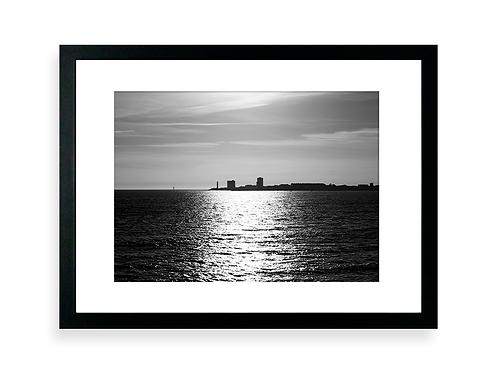 Affiche Photo - Bord de Mer et Reflets - Les Sables D'Olonne