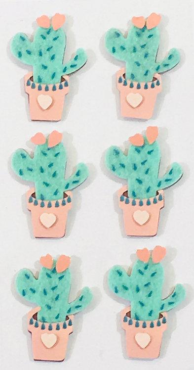 Stickers Artwork 3D - Cactus