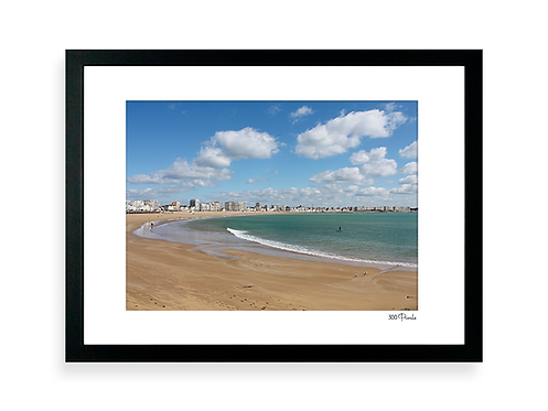 300 Pixels - Affiche Photo - Le Remblai des Sables d'Olonne