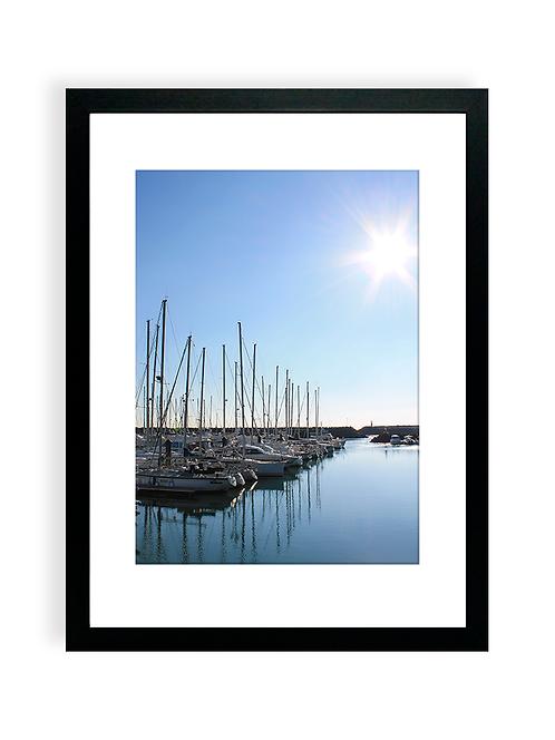 300 Pixels Affiche Photo - Port Bourgenay, Talmont Saint-Hilaire - Voiliers 2