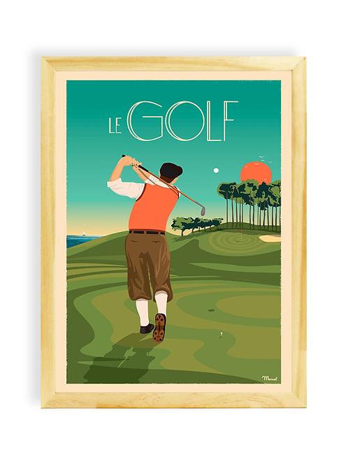 Affiche Marcel - Golf