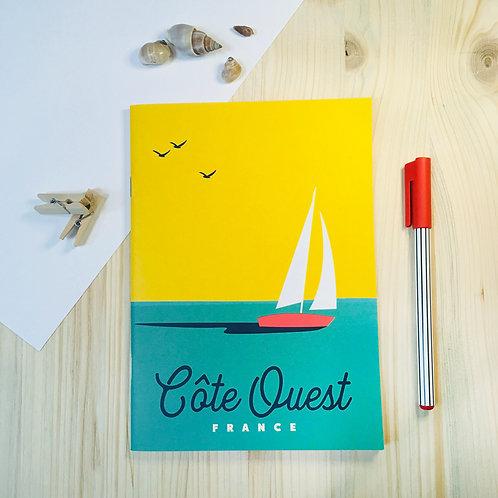 Carnet Côte Ouest - Coll. Marcel - Boat