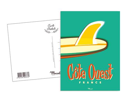 Carte Postale Marcel - Côte Ouest