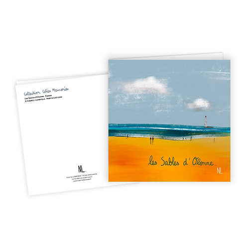 Carte Postale - Plage de la Chaume