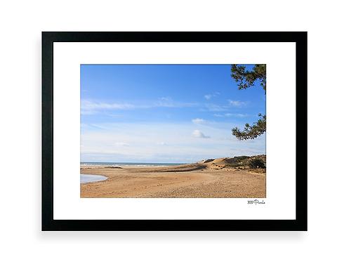 300 Pixels - Affiche Photo - La plage du Veillon, Talmont Saint Hilaire -3