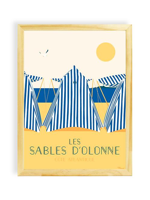Affiche Marcel - Les Tentes aux Sables d'Olonne