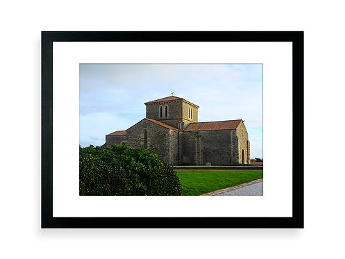Affiche Photo - La Chaume, le Prieure-saint-Nicolas, les Sables D'Olonne