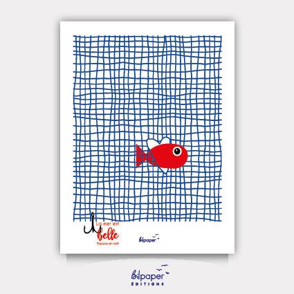 Affiche Bilpaper - La mer est belle 2