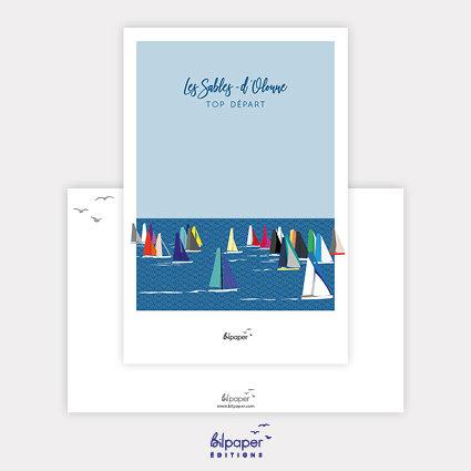 Carte Postale Bilpaper - Les Sables d'Olonne