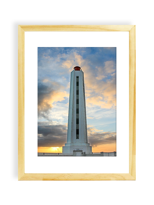 Affiche Photo - La Chaume, le phare de l'Armandèche