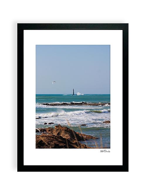 300 Pixels - Affiche Photo - Le Phare des Barges, Les Sables d'Olonne