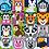 Pixel Hobby Lion - Pixel Art