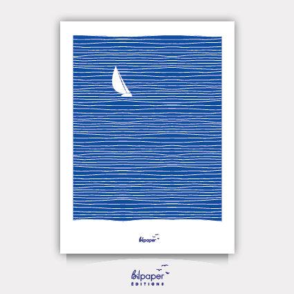 Affiche Bilpaper - La mer