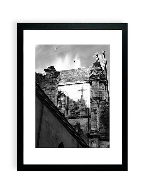 Affiche Photo - Église Notre-Dame-de-Bon-Port- Les Sables D'Olonne
