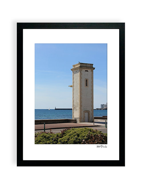 300 Pixels - Affiche Photo - Le Phare de l'Estacade, Les Sables d'Olonne