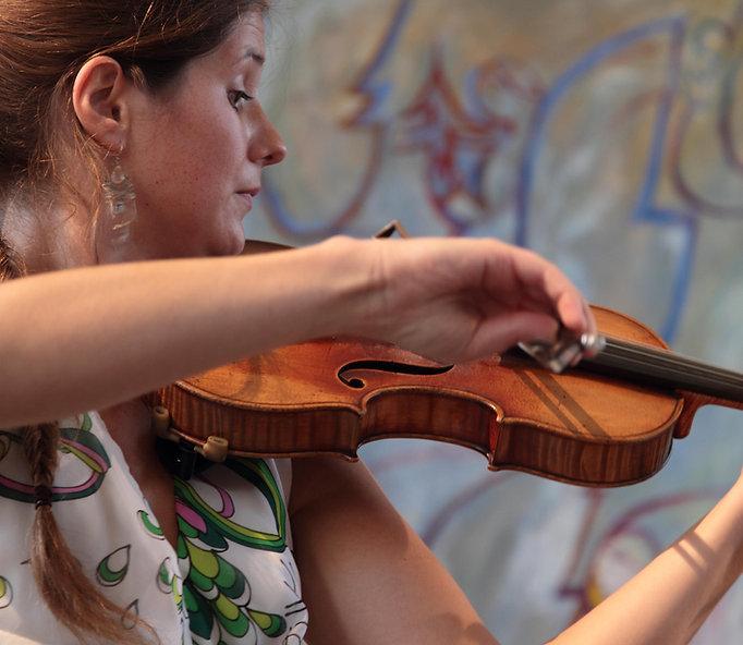 Camille Babut du Mares, violinist
