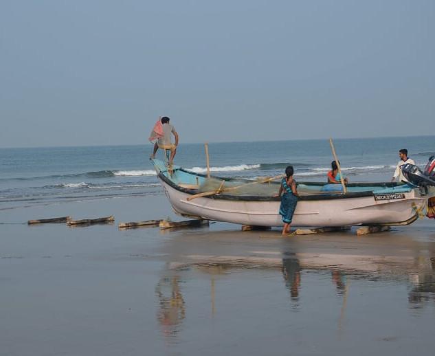 Sejl i Indien