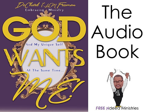 """God Wants Me"" Audiobook - DIGITAL DOWNLOAD"