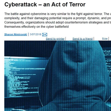 Cyberattack – an Act of Terror