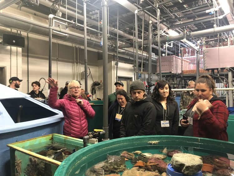 AYFS 2020 visit to Auke Bay Laboratory
