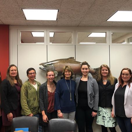 Women in Fisheries – Washington D.C. Advocacy Trip
