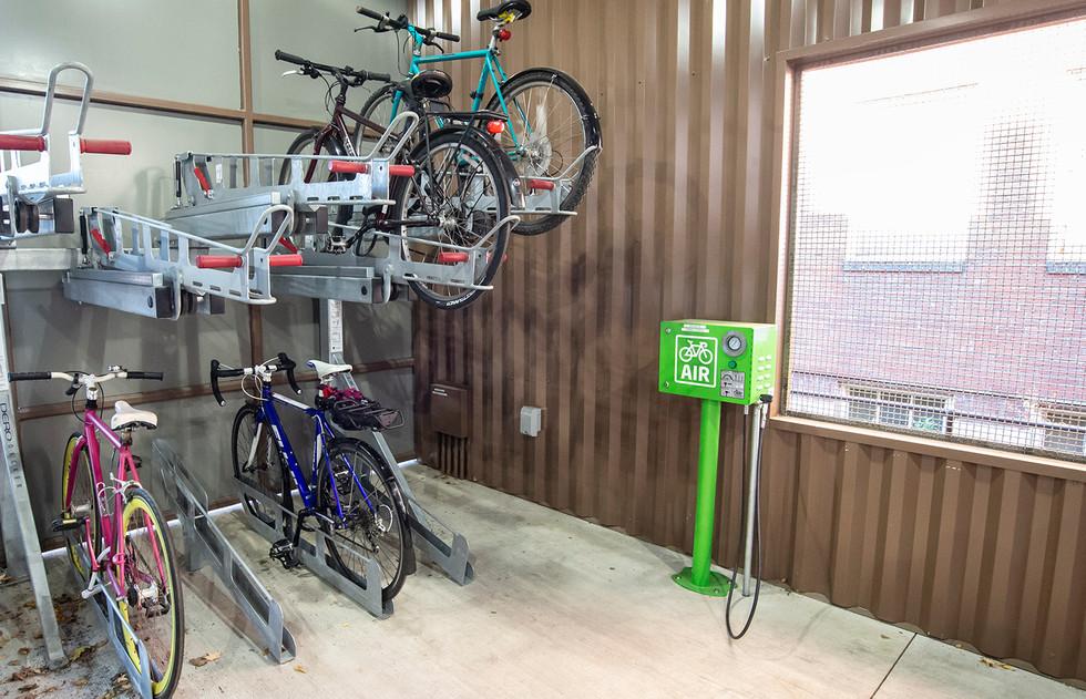 PSU Bike Shelter