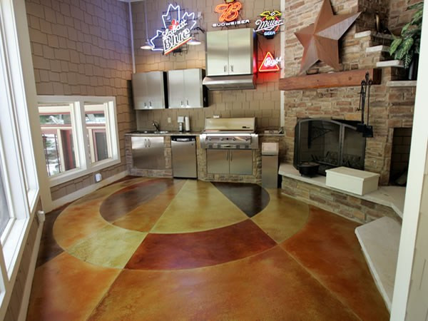 Stained Concrete?