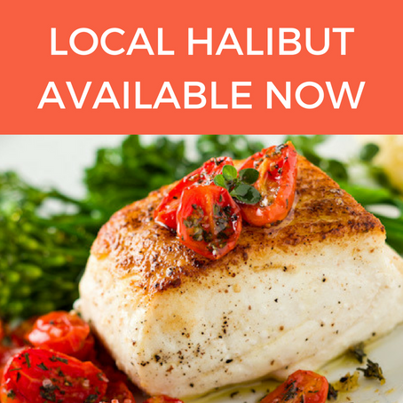 Local Halibut Available in Anchorage