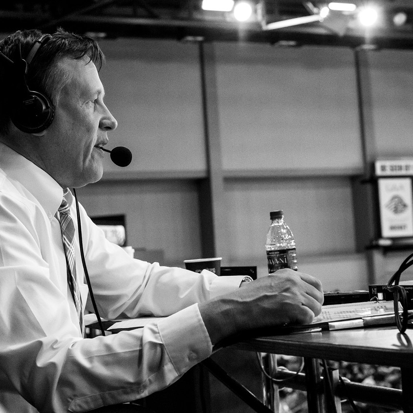 Voice of the Aces Kurt Heider provides color commentary - 4.8.17
