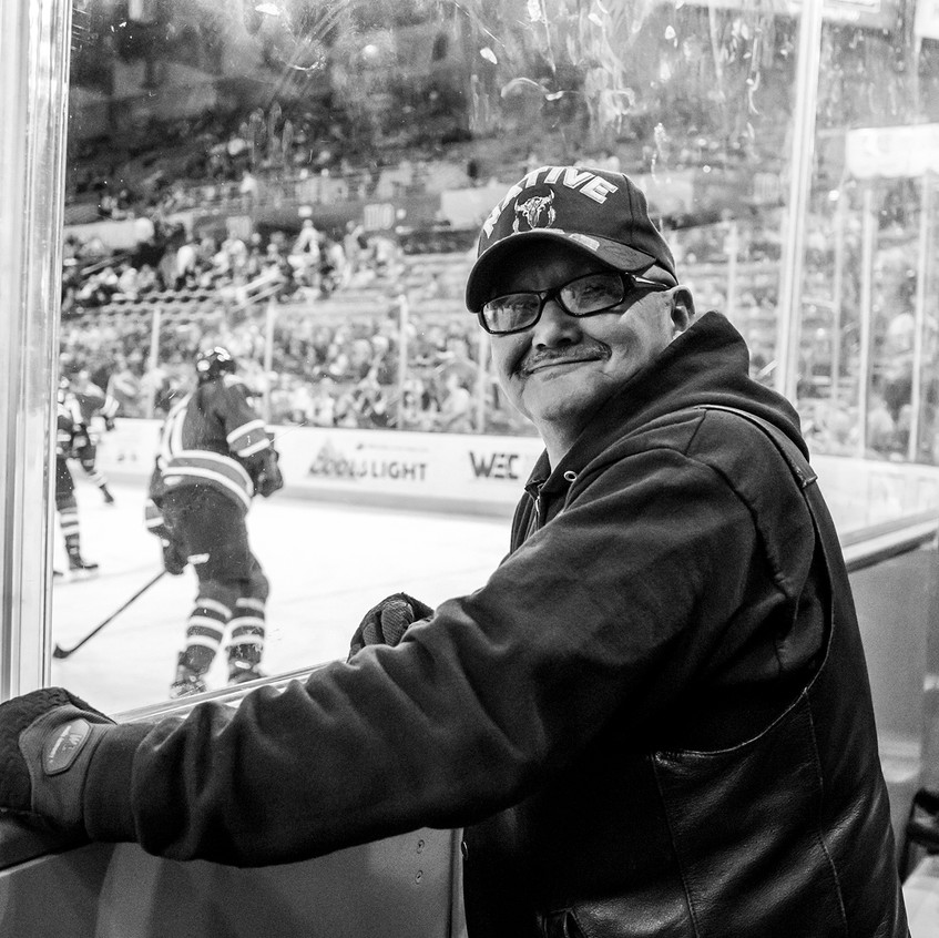 Ice mechanic smiles as he recounts 11 years of taking care of the goalie crease - 4.8.17