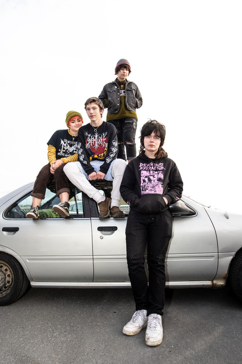 Teenage promoters: Too young for the bars, Sludge & Friends take matters into their own hands