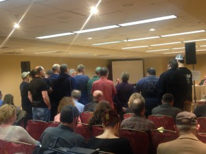Deep Sea Fishermen's Union testifying together at the joint IPHC and NPFMC meeting on February 5th