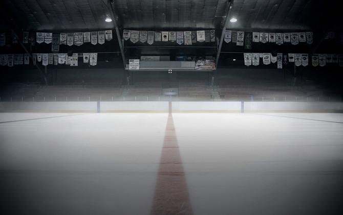Baseball Field to Hockey Rink
