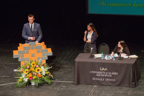 UAA's fast-talking champs: Seawolf Debate Program takes on Stanford Thursday