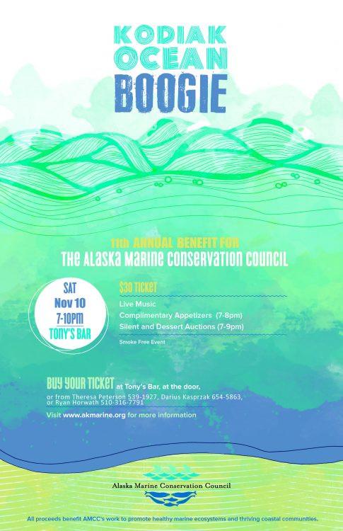 Kodiak Ocean Boogie details
