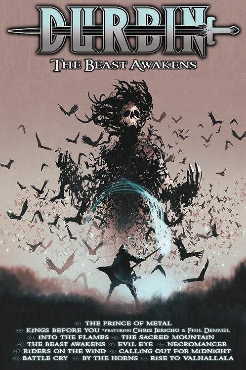 """DURBIN """"The Beast Awakens"""" Poster"""