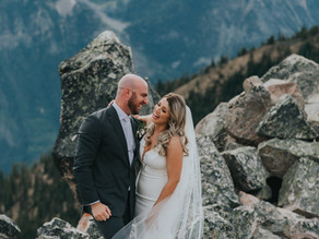 Kicking Horse Mountain Wedding // Brittany & Mike