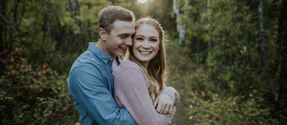 Kananaskis Fall Engagement Session // Rachael & Lukas