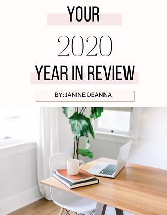 Your 2020 Year In Review