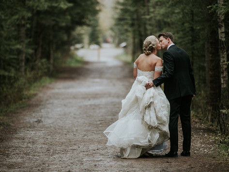 Canmore Silvertip Wedding // Brittany & Jonnie