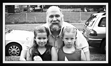 Jeff Gourlay and daughters