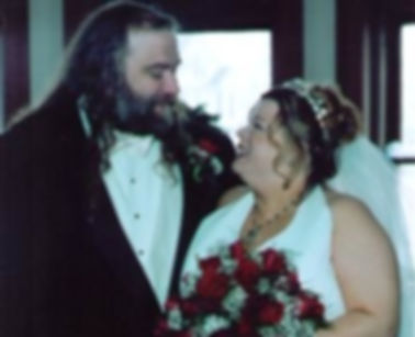 Sharon and Husband Wedding Day