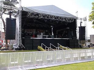 viking sloped stage