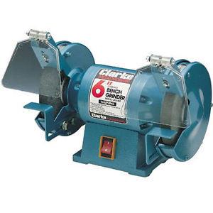 """CLARKE 6"""" Bench Grinder CBG6RZ 2 grinding Wheels"""
