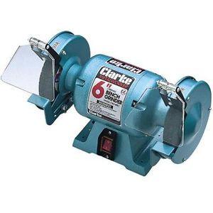 "CLARKE 6"" Bench Grinder CBG6RSC 2 grinding Wheels"