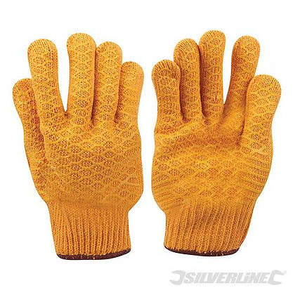 Yellow Gripper Gloves (large)