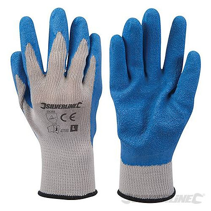 Latex Builders Gloves (large)