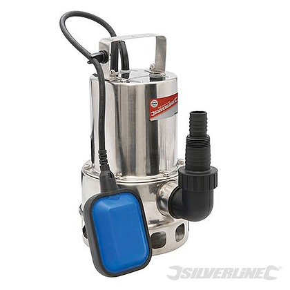 Silverline Stainless Steel Water Pump 500w