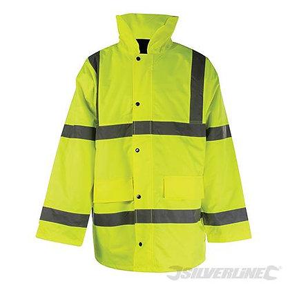 """Hi Vis Jacket Class3 L 100-108cm (39-42"""")"""